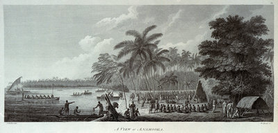 A view at Anamooka by John Webber - print