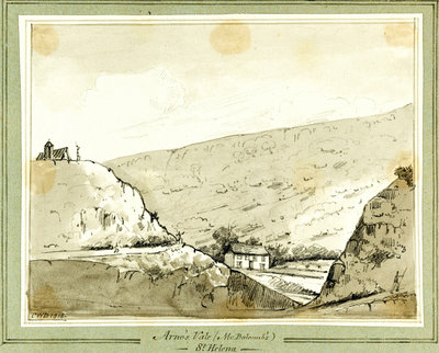 Arno's Vale (Mr Balcomb's) St Helena Fine Art Print by C. W. Browne