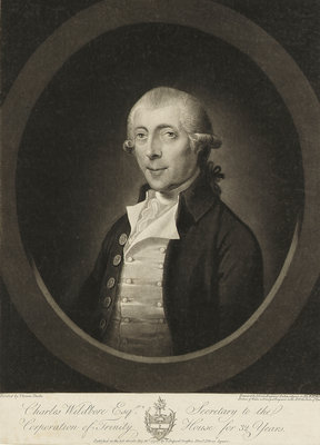 Charles Wildbore Esq. (d. 1792) by Thomas Duche - print