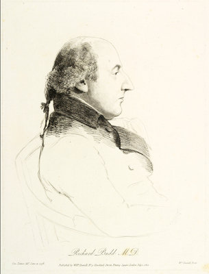 Dr. Richard Budd (1746-1821) by George Dance - print