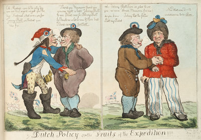 Dutch Policy or the Fruits of the Expedition!!! by Isaac Cruikshank - print