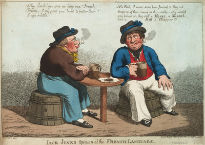 Jack Junk's Opinion of the French Language by George M. Woodward - print