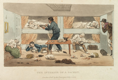 The Interior of a Packet by unknown - print