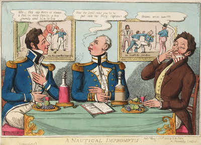 A Nautical Impromptu (Duke of Clarence) by S.W. Fores - print