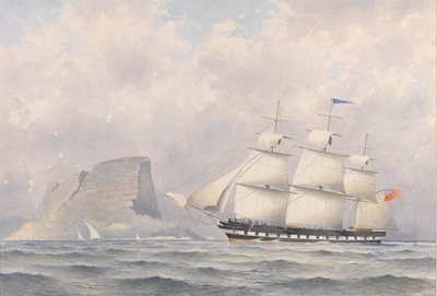 Clipper Ship 'Norwood' (1854) by A. E. Morris - print
