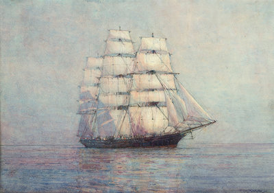 'Cutty Sark' (1869) by Gregory Robinson - print