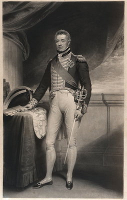Admiral Sir George Cockburn by William Beechey - print