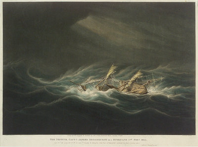 The 'Neptune' by William John Huggins - print