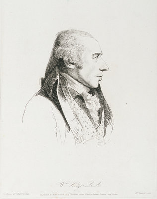 William Hodges by George Dance - print