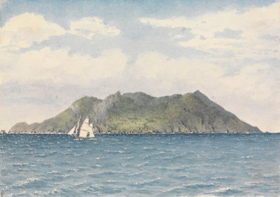 Pitcairn's Island, Augt 12th 1849 by Edward Gennys Fanshawe - print