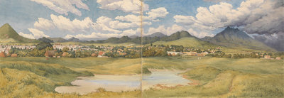 Tepic [Mexico], Augt 12th 1850 by Edward Gennys Fanshawe - print