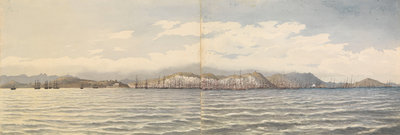 San Francisco, California, Octr 6th 1851 by Edward Gennys Fanshawe - print