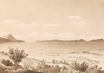 Navarino [Pylos], Septr 26th 1857 [Greece] by Edward Gennys Fanshawe - print