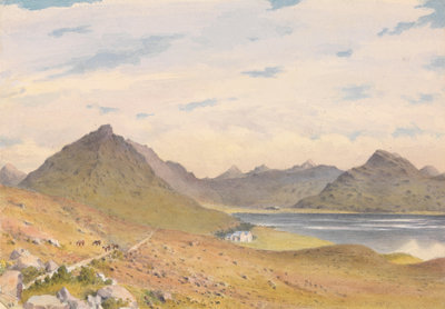 Loch Torridon, September 1883 [Scotland] by Edward Gennys Fanshawe - print