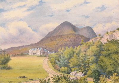 Torridon House, D. Darroch, Esqr. September 1883 [Scotland] Fine Art Print by Edward Gennys Fanshawe