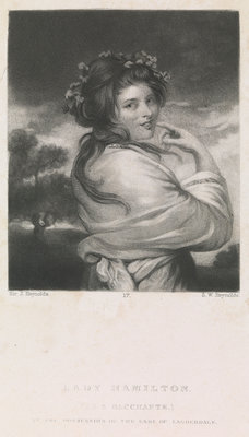 Lady Emma Hamilton (as a Bacchante) by Joshua Reynolds - print