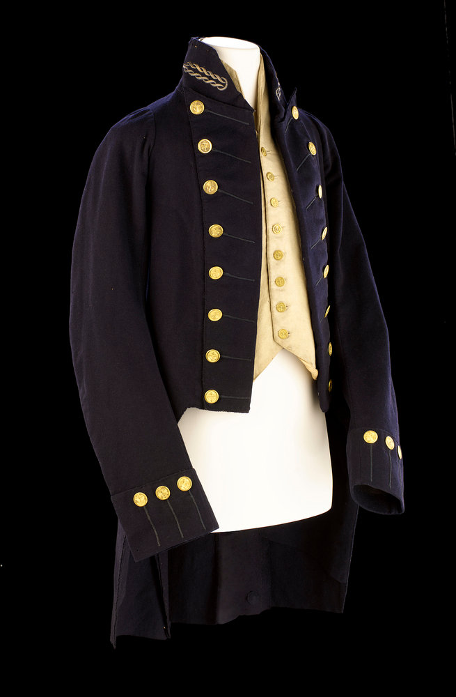 Royal Naval uniform: pattern 1805 by Hammond Turner & Dickinson