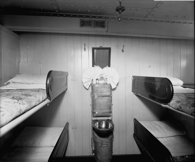 Third Class Cabin On The 39 Royal George 39 1907 Bedford