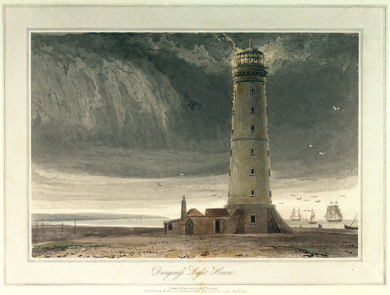 Dungeness Light House William Daniell Royal Museums