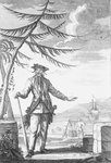 Captain Edward Teach, commonly known as Blackbeard by unknown - print