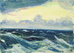 Seascape by John Everett - print