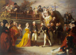 Visit of George III to Howe's Flagship, the 'Queen Charlotte', 26 June 1794 by Thomas Luny - print