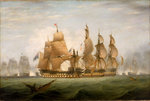 The Battle of Cape St Vincent, 14 February 1797 by Thomas Luny - print