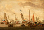 Review of Dutch yachts before Peter the Great by Ludolf Bakhuizen - print