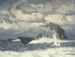 Motor torpedo boats by Norman Wilkinson - print