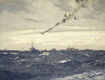 End of a Focke-Wulf by Norman Wilkinson - print