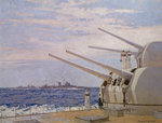 Six-inch gun light cruisers of the Leander class Postcards, Greetings Cards, Art Prints, Canvas, Framed Pictures, T-shirts & Wall Art by Richard Ernst Eurich