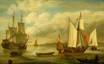 A Dutch states yacht by unknown - print