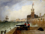 Semaphore at Portsmouth by William John Huggins - print