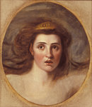 Lady Emma Hamilton as Cassandra, (1765-1815)