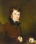 Clarkson Stanfield (1793-1867) by Nathaniel Hone the Elder - print