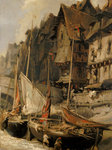 Port Scene by Samuel Drummond - print