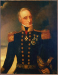 Rear-Admiral Sir Thomas Baker (1771?-1845) by Richard Brydges Beechey - print