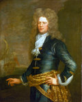 Admiral Sir John Balchen (1670-1744) by British School - print
