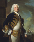 Admiral John Byng (1704-1757) by British School - print