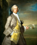 Captain Richard Chadwick (d.1748) by Thomas Gainsborough - print