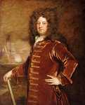 Admiral George Churchill (1654-1710) by Thomas Hickey - print