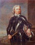 Oliver Cromwell (1599-1658) by Peter Monamy - print