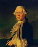 Captain James Ferguson (1723-1793) by Thomas Hudson - print