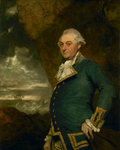 Captain John Gell (1740-1805) by John Cleveley, the Elder - print