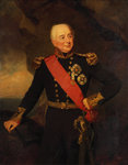 Admiral Sir William Hargood (1762-1839) by George Gower - print