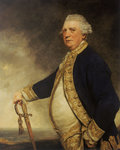 Admiral Augustus Keppel (1725-1786) by George Gower - print