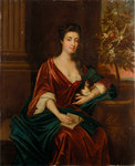 Lady Leake (1657-1709) by John Fraser - print