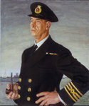 Frank E. Mattocks, Chief Engineer (1889-1965) by John Fraser - print