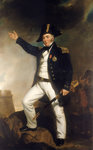 Admiral Sir Charles Napier (1786'1860) Fine Art Print by George Gower
