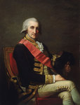 Admiral Lord George Brydges Rodney, 1st Baron Rodney (1719-1792) by George Gower - print